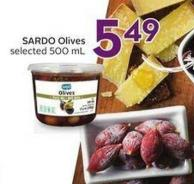 Sardo Olives Selected 500 mL