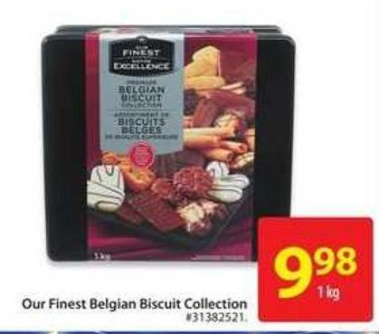 Our Finest Belgian Biscuit Collection
