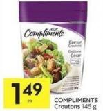 Compliments Croutons 145 g