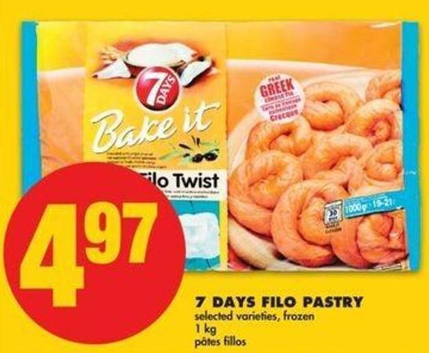 7 Days Filo Pastry - 1 Kg