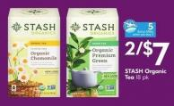 Stash Organic Tea 18 Pk - 5 Air Miles
