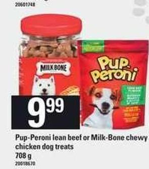 Pup-peroni Lean Beef Or Milk-bone Chewy Chicken Dog Treats