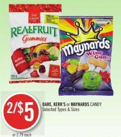 Dare - Kerr's or Maynards Candy