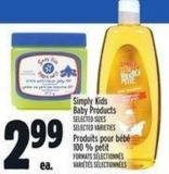 Simply Kids Baby Products