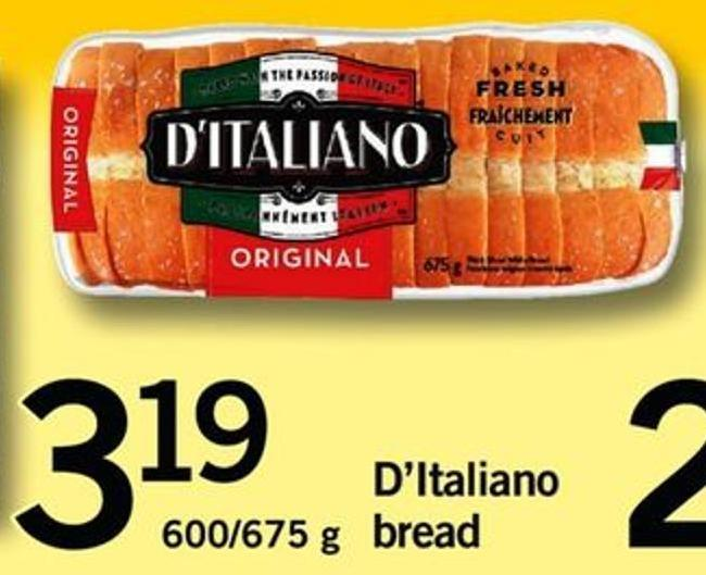 D'italiano Bread - 600/675 G