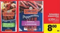 Schneiders Pepperettes - 375 G Or Bites - 250 G