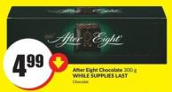After Eight Chocolate 300 g