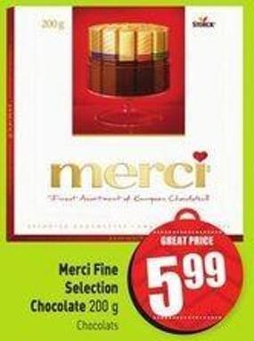 Merci Fine Selection Chocolate 200 g