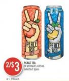 Peace Tea Beverages 695ml