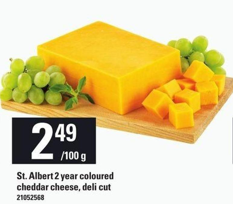 St. Albert 2 Year Coloured Cheddar Cheese