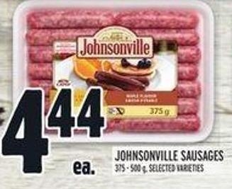 Johnsonville Sausages - 375/500 g