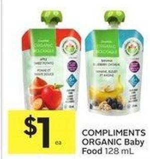 Compliments Organic Baby Food