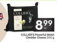 Collier's Powerful Welsh Cheddar Cheese