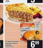 St. Hubert Fresh Pies - 610/645 g