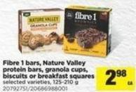 Fibre 1 Bars - Nature Valley Protein Bars - Granola Cups - Biscuits Or Breakfast Squares - 125-210 g