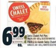 Swiss Chalet Pot Pies