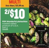 POM Wonderful Pistachios Roasted Salted - 225 G