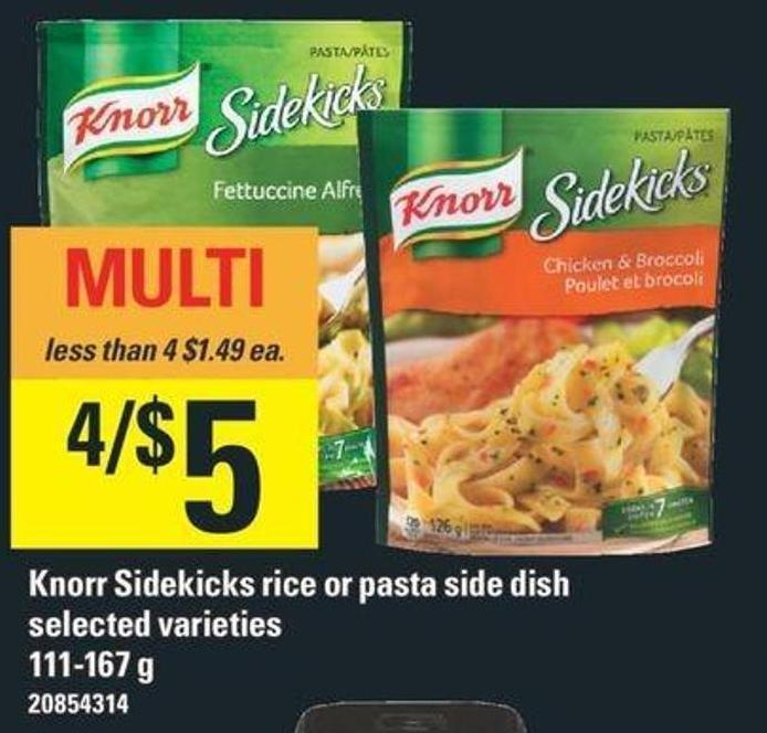 Knorr Sidekicks Rice Or Pasta Side Dish - 111-167 G