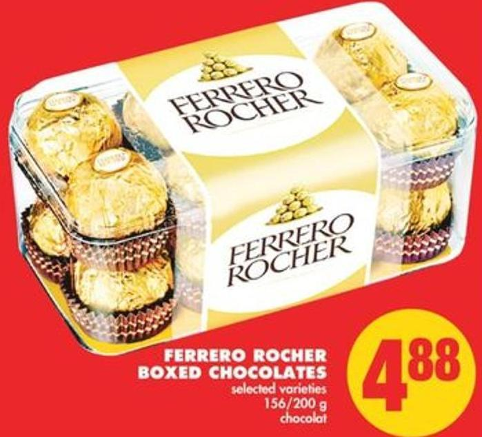 Ferrero Rocher Boxed Chocolates - 156/200 g