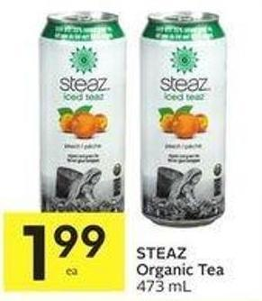 Steaz Organic Tea