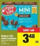 Enjoy Life Mini Cookies - 170 g