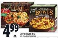 Amy's Frozen Meal