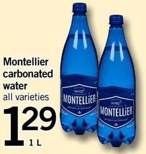 Montellier Carbonated Water - 1l