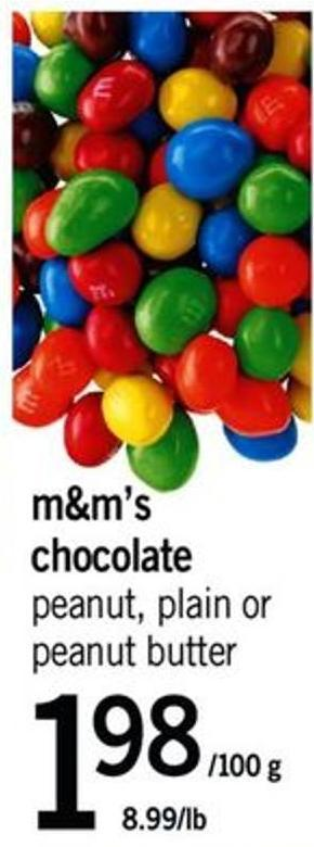 M&m's Chocolate