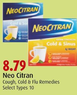 Neo Citran Cough - Cold & Flu Remedies