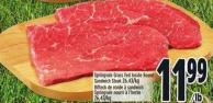 Springvale Grass Fed Inside Round Sandwich Steak