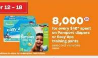 Pampers Diapers Or Easy Ups Training Pants