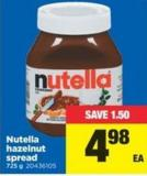 Nutella Hazelnut Spread