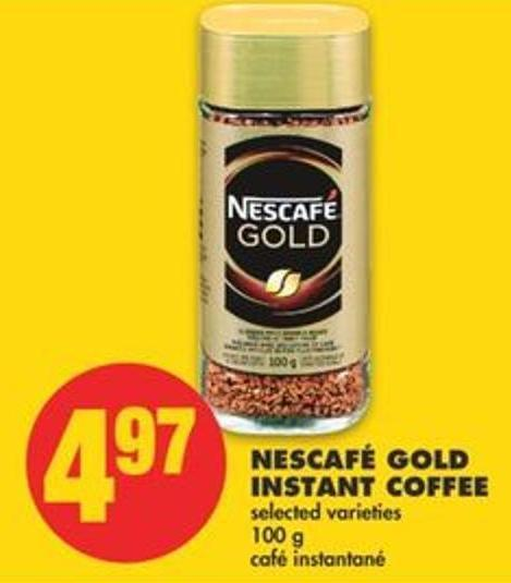 Nescafé Gold Instant Coffee - 100 g