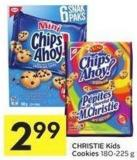 Christie Kids Cookies 180-225 g