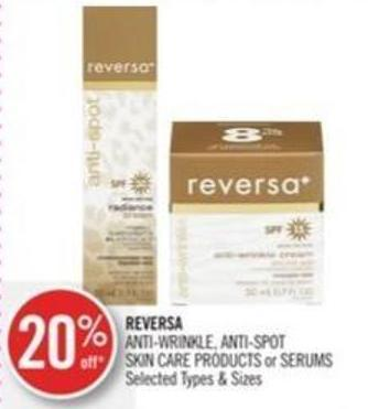 Reversa Anti-wrinkle - Anti-spot Skin Care Products or Serums