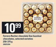 Ferrero Rocher Chocolate Fine Hazelnut Chocolates - 259-375 g