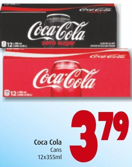 Coca Cola Cans 12x355ml