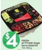Fresh Attitude Single Serve Salad Kit