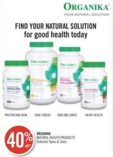 Organika Natural Health Products