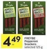 Pepperoni Snackers Selected 125 g