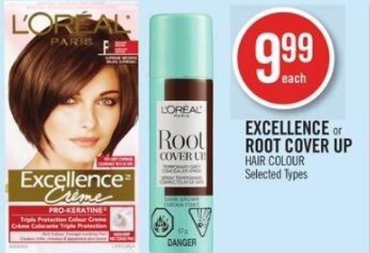 L'oreal Excellence or Root Cover Up Hair Colour