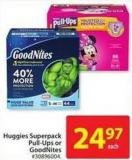 Huggies Superpack Pull-Ups or Goodnites