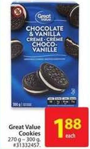 Great Value Cookies
