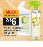 PC Green Cleaners - 710 Ml - 1 L