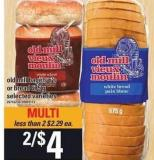 Old Mill Bagels 6's Or Bread 675 G