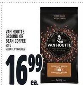 Van Houtte Ground Or Bean Coffee