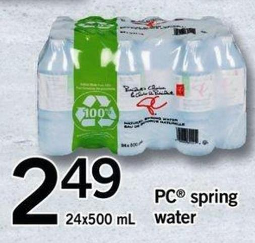 PC Spring Water