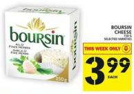 Boursin Cheese - 150g