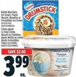 Nestlé Real Dairy Ice Cream - Frozen Dessert - Novelties Or Irresistibles Ice Cream