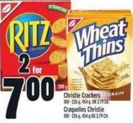Christie Crackers 100 - 226 g - 454 g - Or 3.79 Ea.